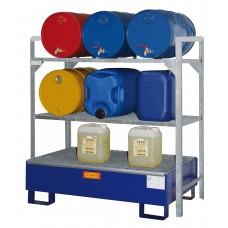 Regal za sode 360 z SW2 kovinsko lovilno posodo