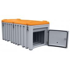 CEMbox 750 L siv, s stransko odprtino