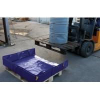 Lovilna posoda 8/12 - zložljiva 210L, 130 x 170 cm